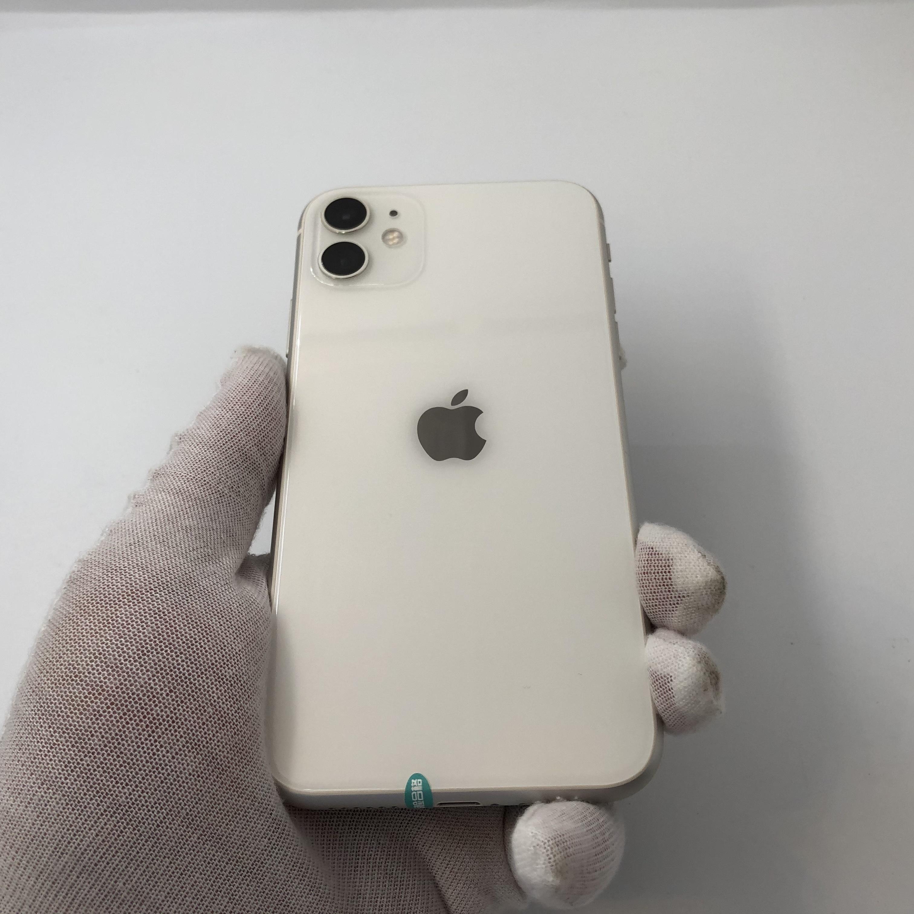 苹果【iPhone 11】4G全网通 白色 64G 国际版 99新