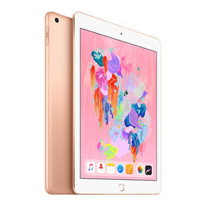 苹果【iPad  2018款 9.7英寸】WIFI版 金色 128G 国行 99成新 真机实拍