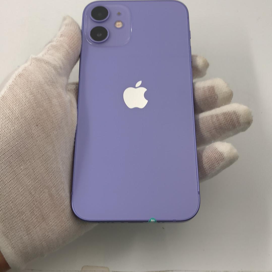 苹果【iPhone 12 mini】5G全网通 紫色 128G 国行 99新