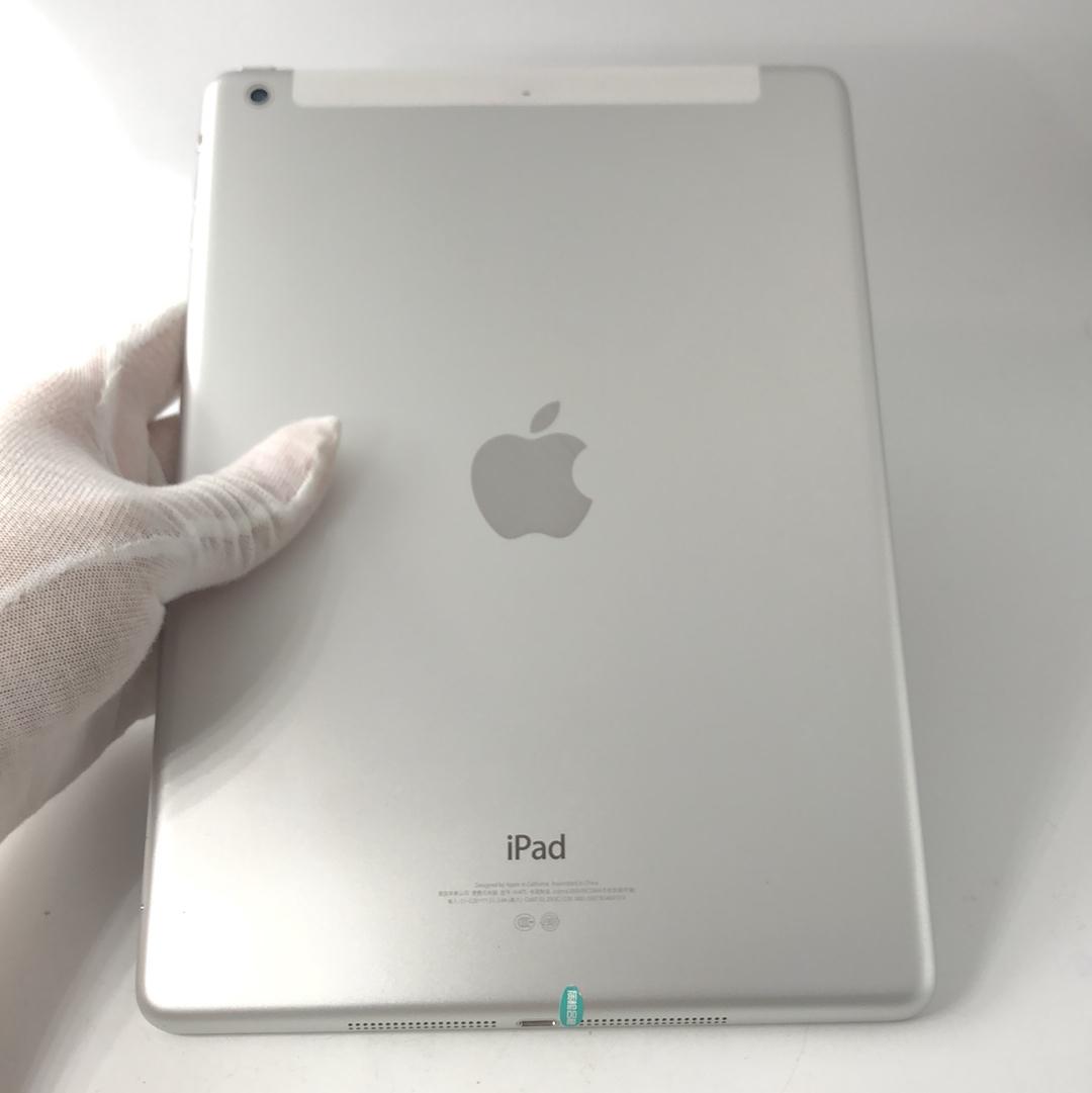 苹果【iPad Air 1】3G版 银色 16G 国行 8成新