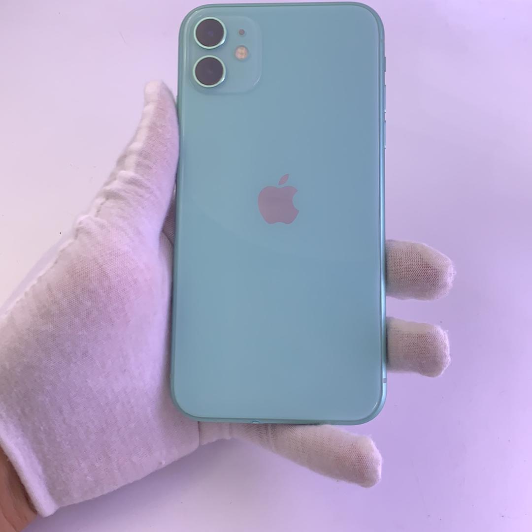 苹果【iPhone 11】4G全网通 绿色 64G 国行 99新