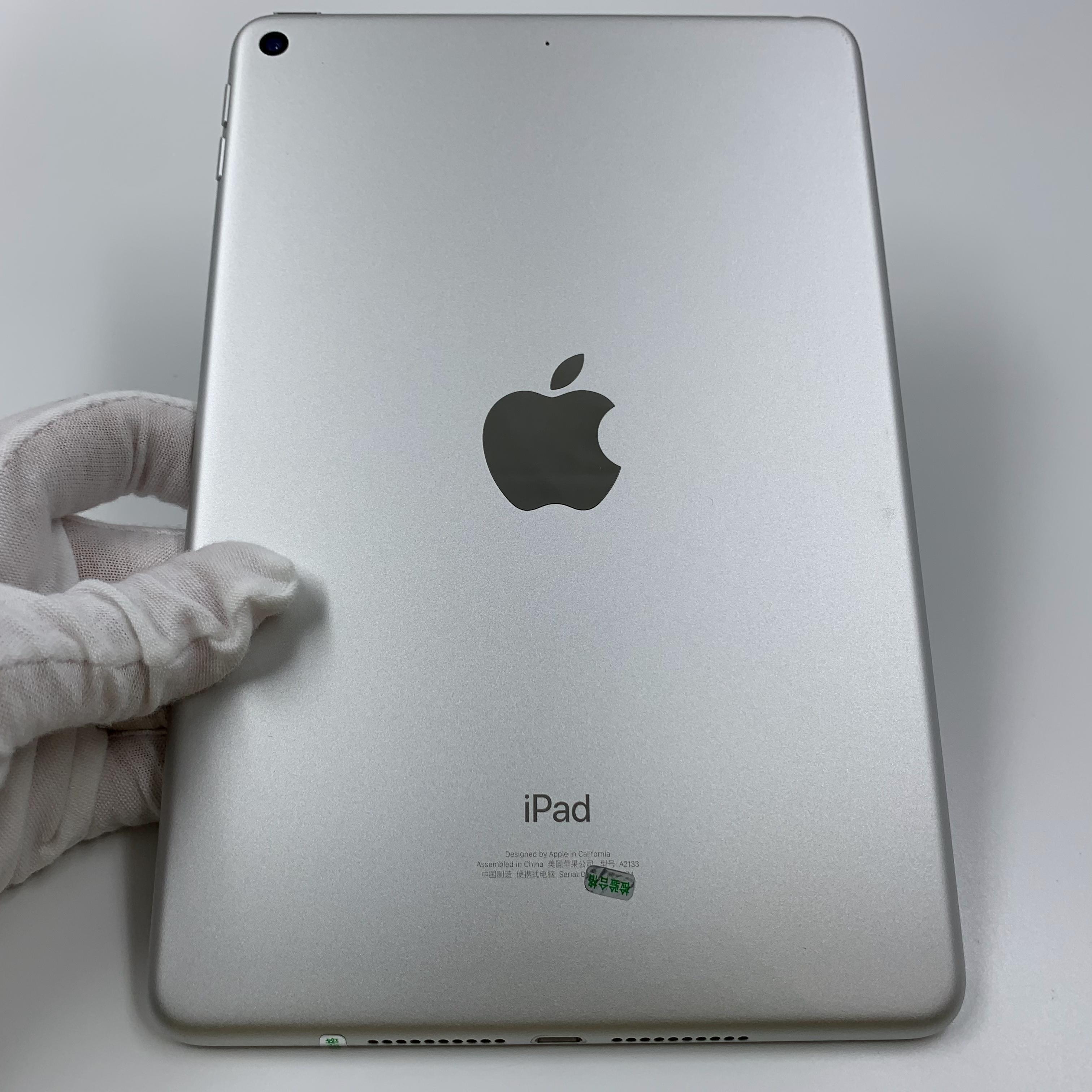 苹果【iPad mini5 7.9英寸 19款】WIFI版 银色 64G 国行 95新 真机实拍