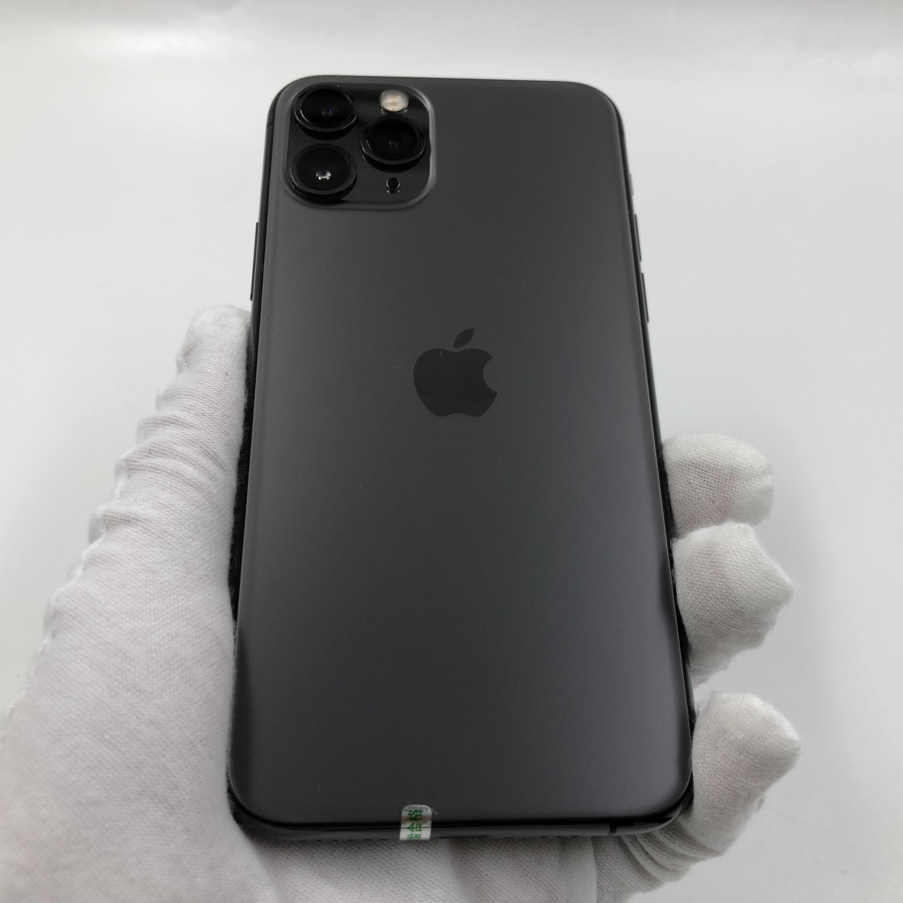 苹果【iPhone 11 Pro】4G全网通 深空灰 64G 国行 95新 真机实拍
