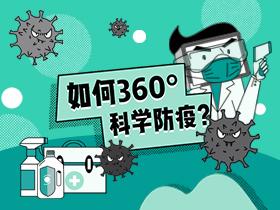 如何360°科学防疫?