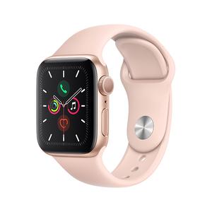 苹果【Apple Watch Series5】40mm 95成新  GPS 蜂窝版 玫瑰金单机