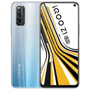 vivo【iQOO Z1(5G)】5G全网通 星河银 6G/128G 国行 95新 真机实拍