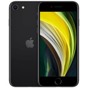 苹果【iPhone SE2】4G全网通 黑色 64G 国行 8成新 真机实拍官保2021-09-08