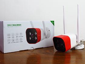 【90秒开箱视频】360智能摄像机红色警戒高配版