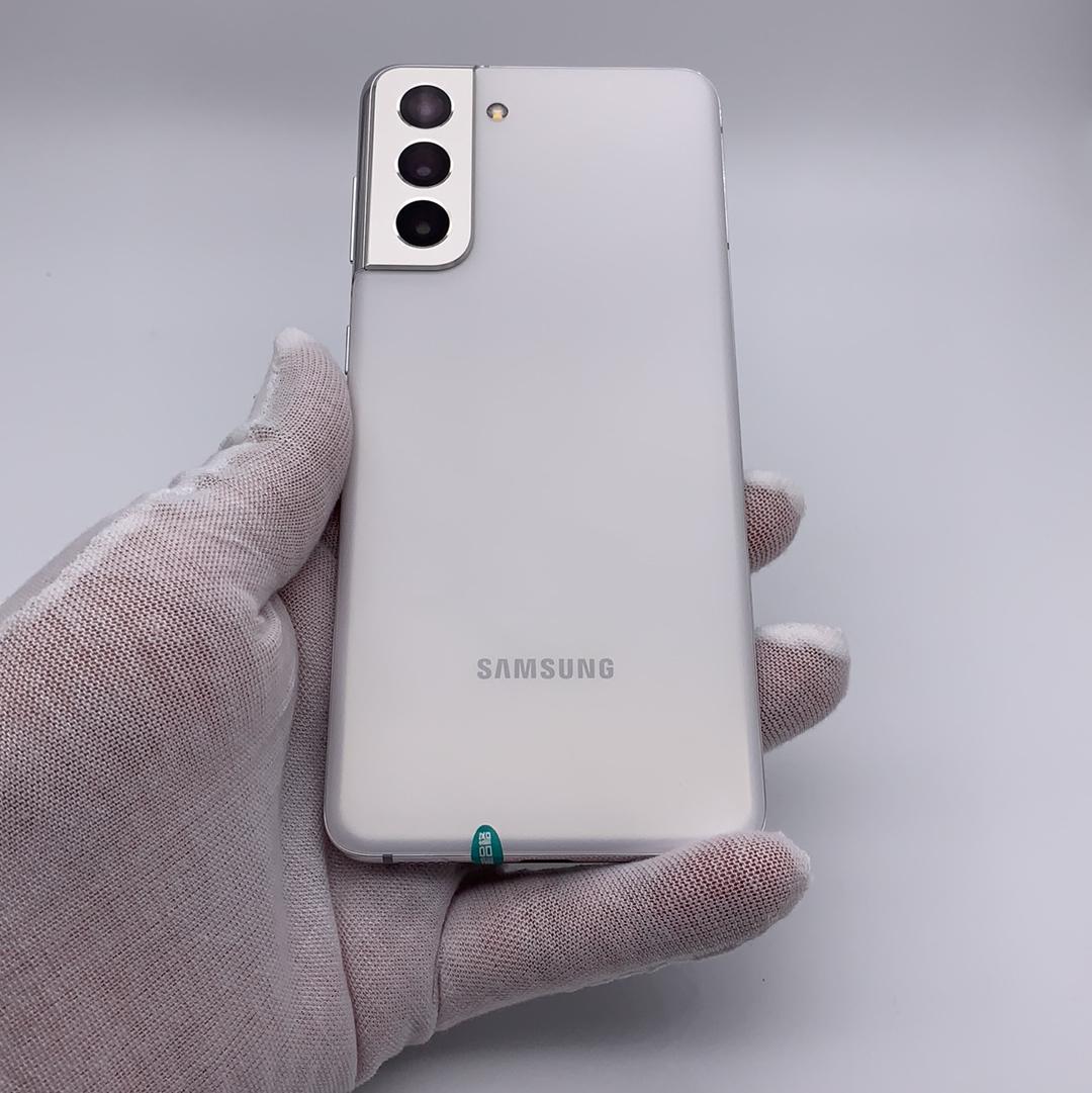 三星【Galaxy S21 5G】5G全网通 丝雾白 8G/128G 国行 99新