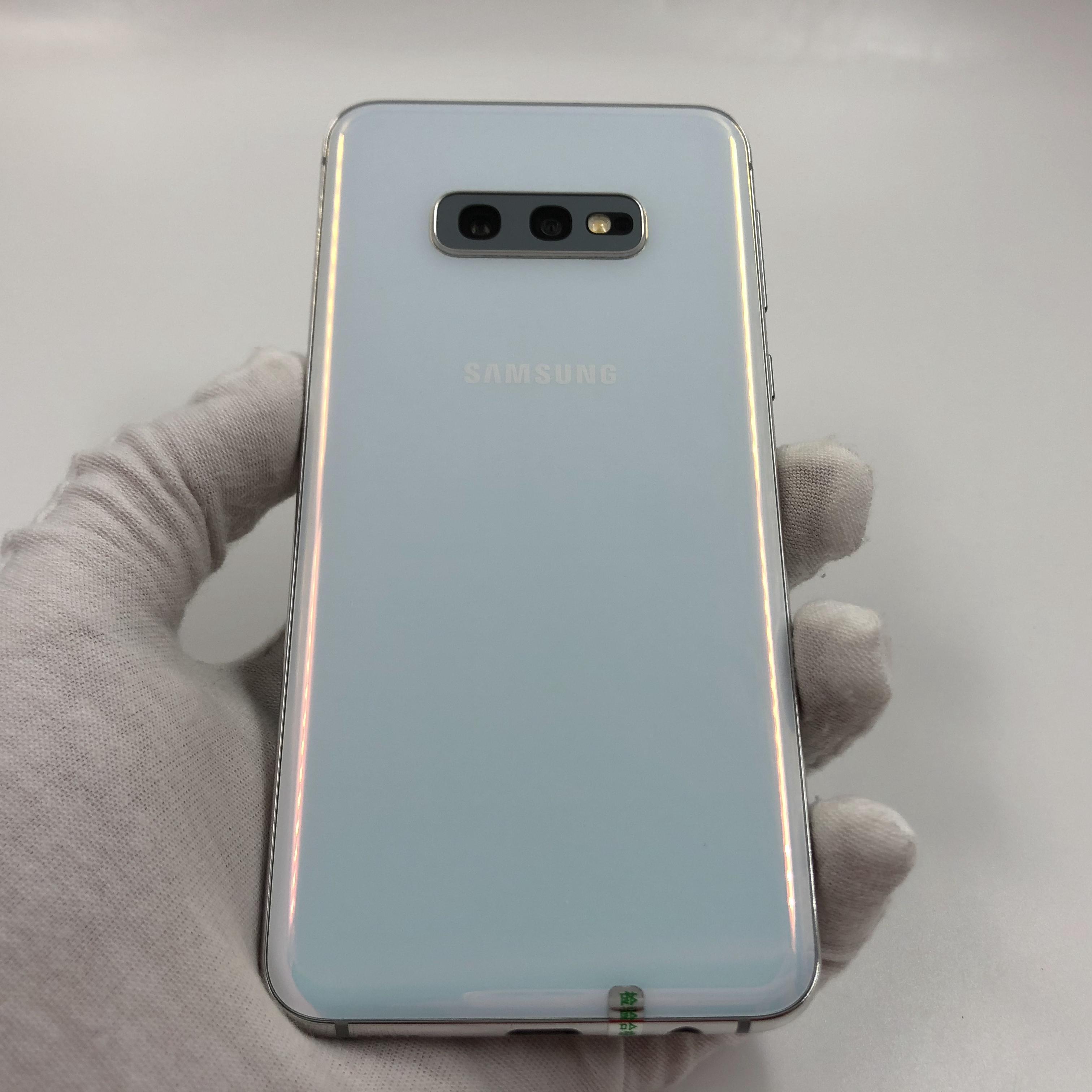 三星【Galaxy S10e】4G全网通 白色 6G/128G 国行 95新 真机实拍