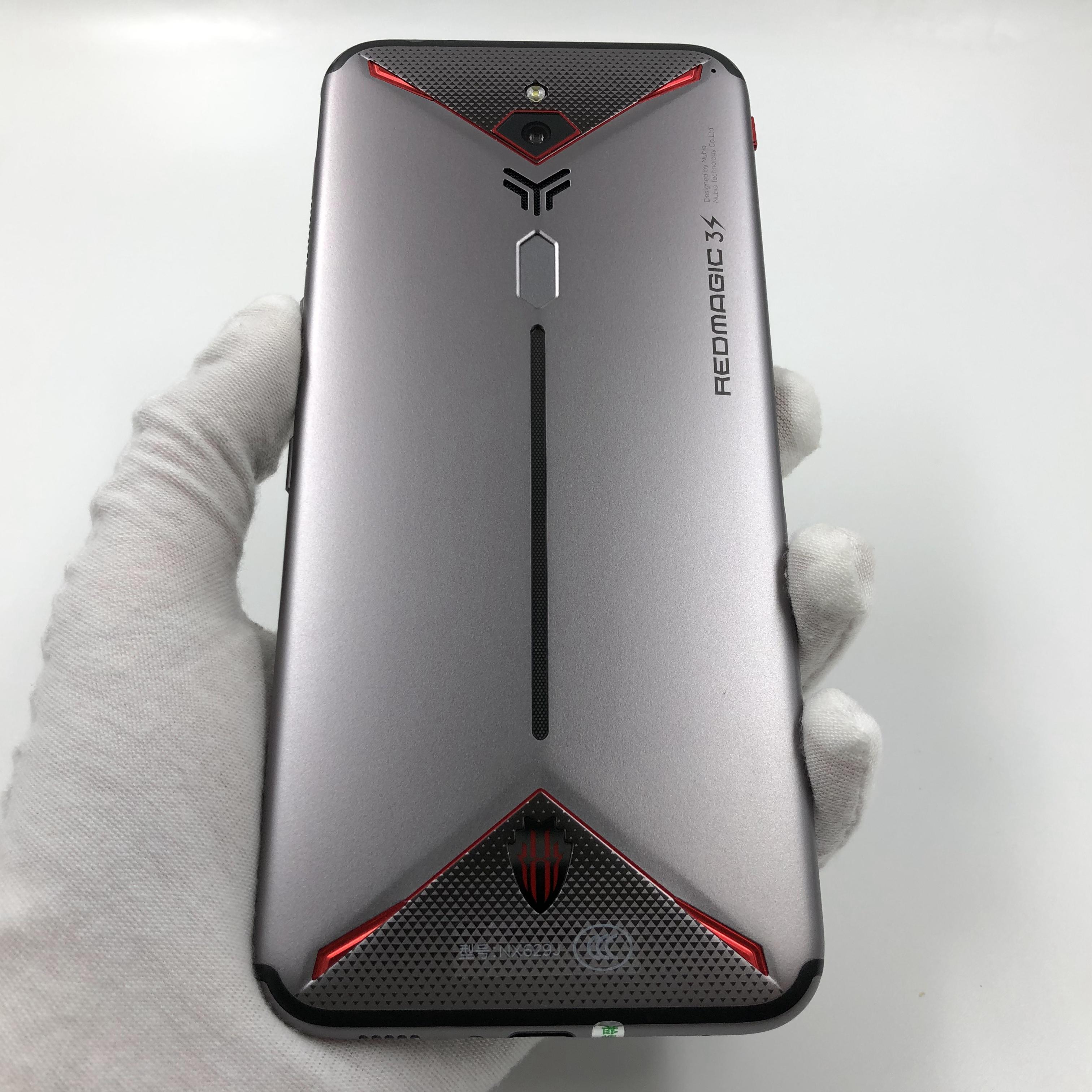 努比亚【红魔3S】4G全网通 银色 8G/128G 国行 95新 真机实拍