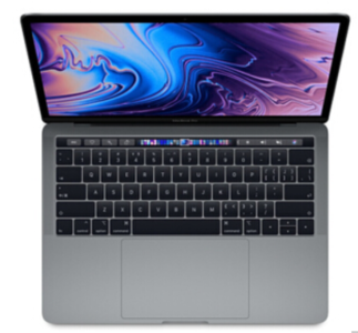 Mac笔记本【18年13寸MacBook Pro  MR9R2】灰色 国行 I5 2.3GHz 8G/512G 95新