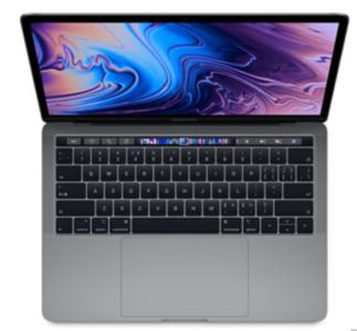Mac笔记本【18年13寸MacBook Pro TOUCH BAR MR9R2】8G/512G 9成新  I5 2.3GHz 国行 灰色真机实拍充头+线D-7