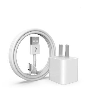 苹果【配件套装(数据线/充电头)】99成新  数据线 充电头 白色Lightning接口数据线+充电头