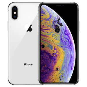 苹果【iPhone Xs】全网通 银色 64G 国行 8成新 真机实拍