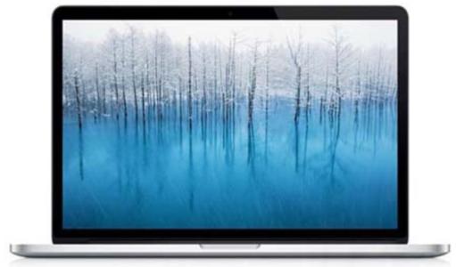Mac笔记本【Retina屏13年15寸MacBook Pro ME293】银色 8G/256G I7 2.0GHz 95新