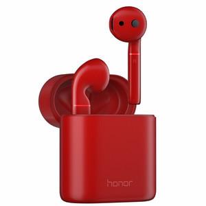 荣耀【FlyPods】红色 99成新 无线耳机双击触控蓝牙运动跑步防水耳机
