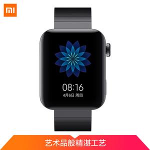 小米【小米手表】99成新  黑色智能手表高清彩屏内置小爱同学语音操控