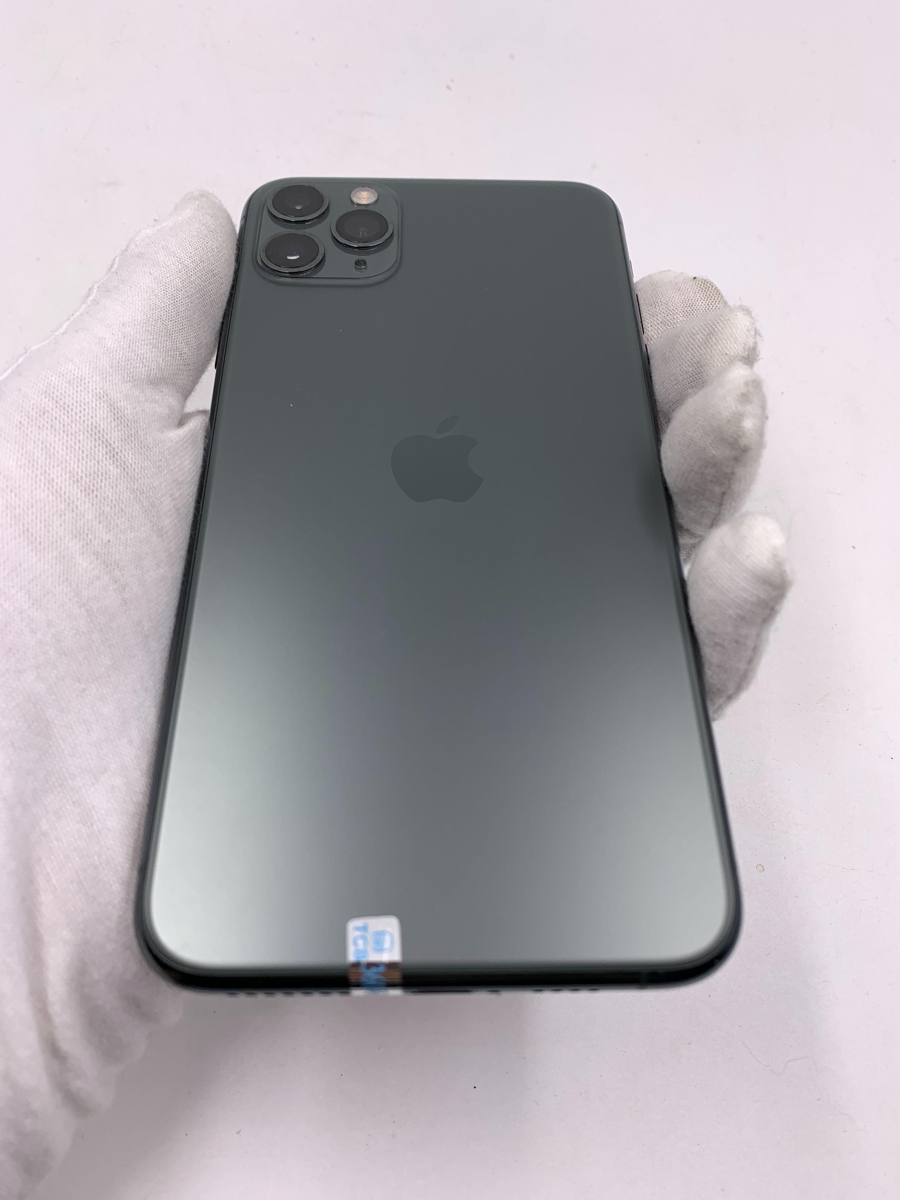 苹果【iPhone 11 Pro Max】4G全网通 暗夜绿色 256G 国行 95新