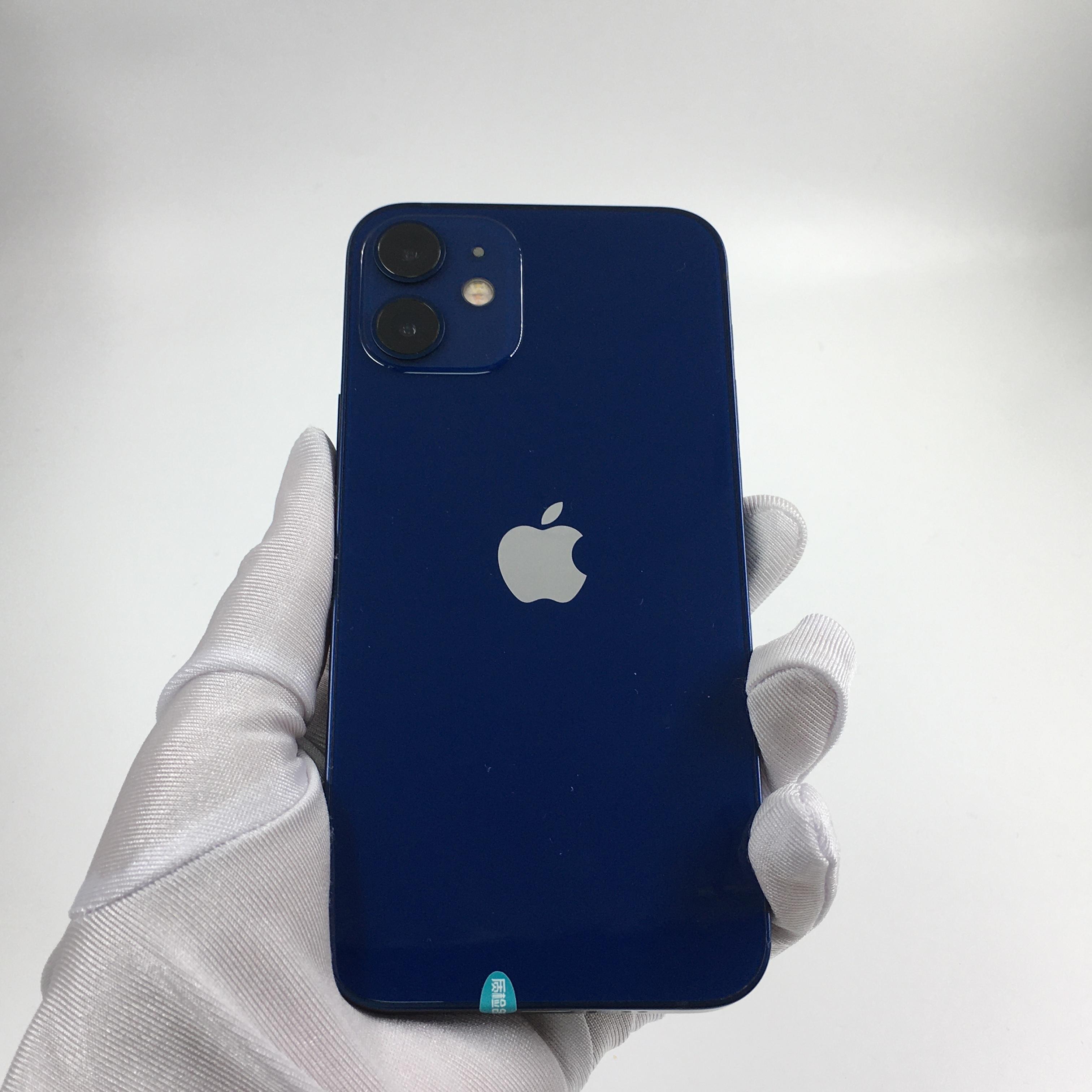 苹果【iPhone 12 mini】5G全网通 蓝色 128G 国行 99新 128G真机实拍全套原装
