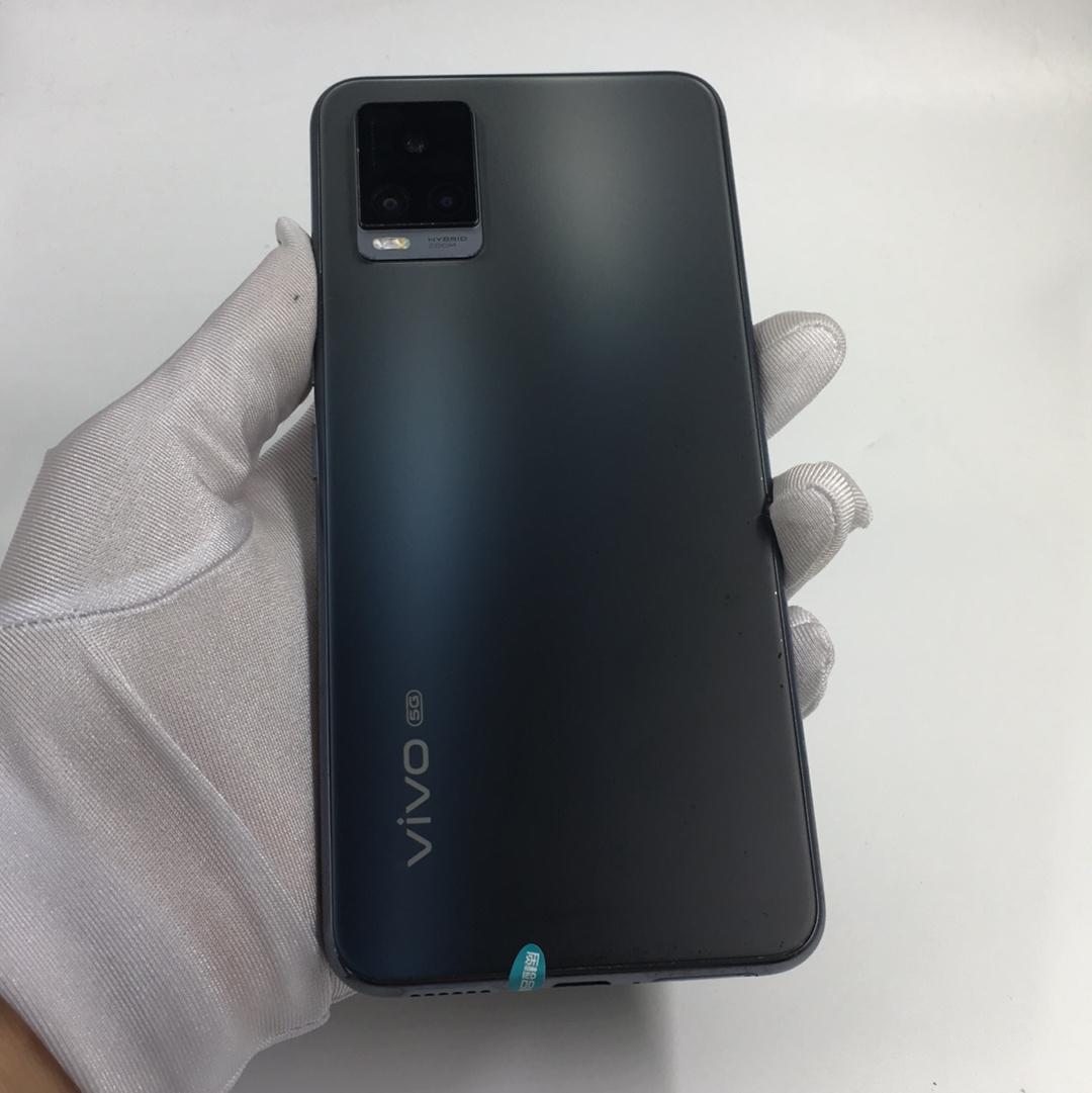 vivo【S7 5G】5G全网通 爵士黑 8G/128G 国行 9成新 8G/128G真机实拍
