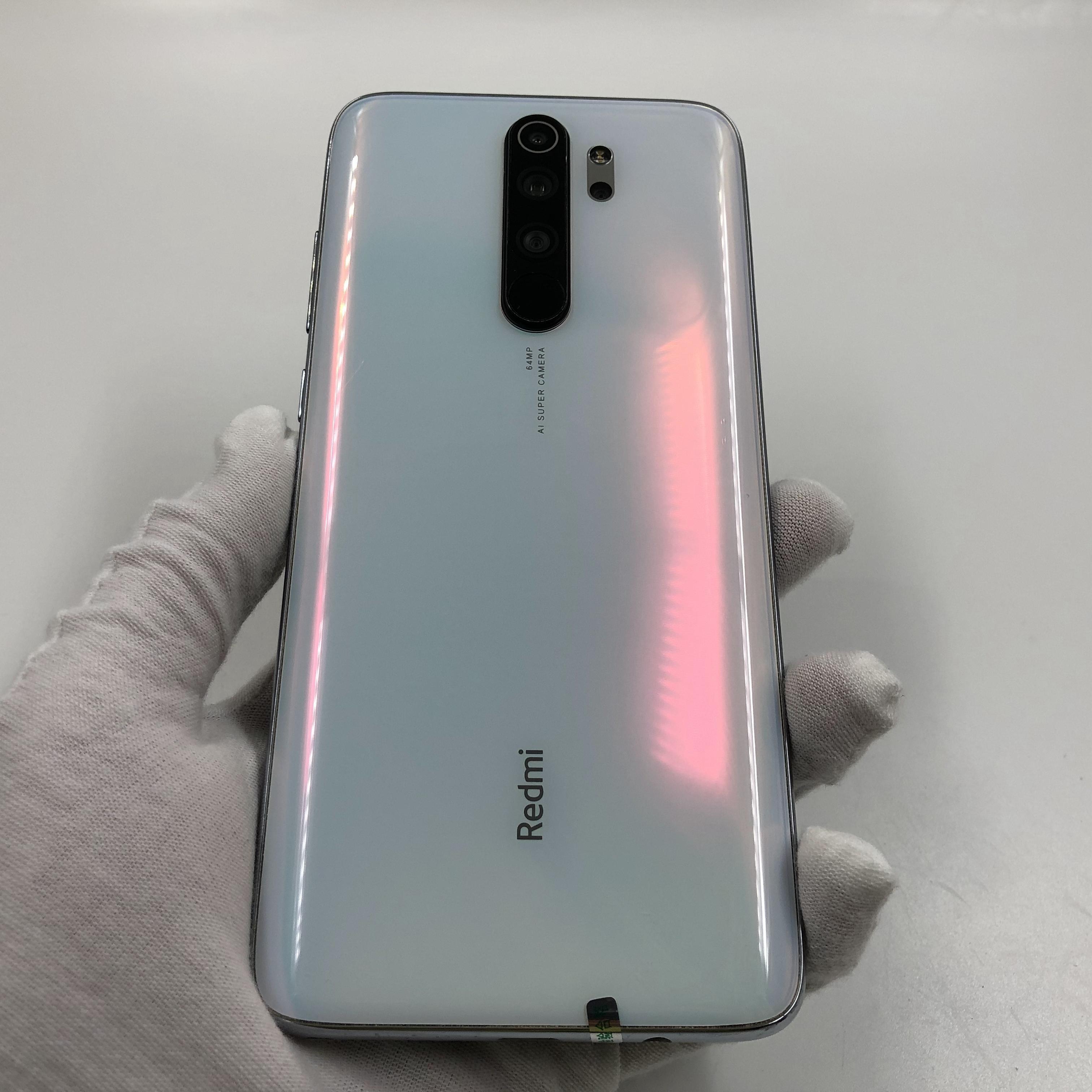 小米【Redmi Note 8 Pro】4G全网通 贝母白 6G/64G 国行 8成新 真机实拍