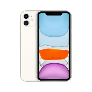 苹果【iPhone 11】全网通 白色 64G 国行 8成新 64G真机实拍