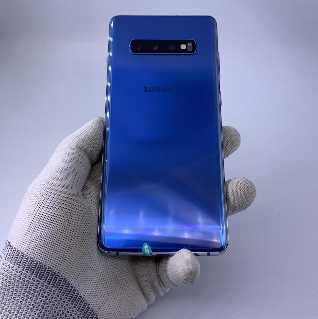 三星【Galaxy S10+】4G全网通 蓝色 8G/128G 国行 9成新