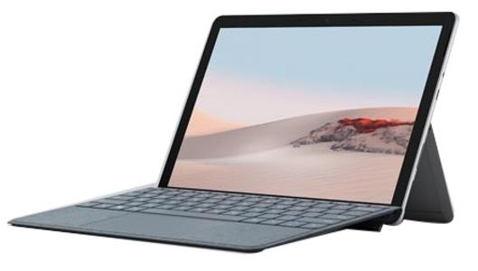 Mac笔记本【微软 Surface Go 2 (带键盘) 酷睿处理器(非i系列)】8G/128G 95成新  银色真机实拍原装充电器