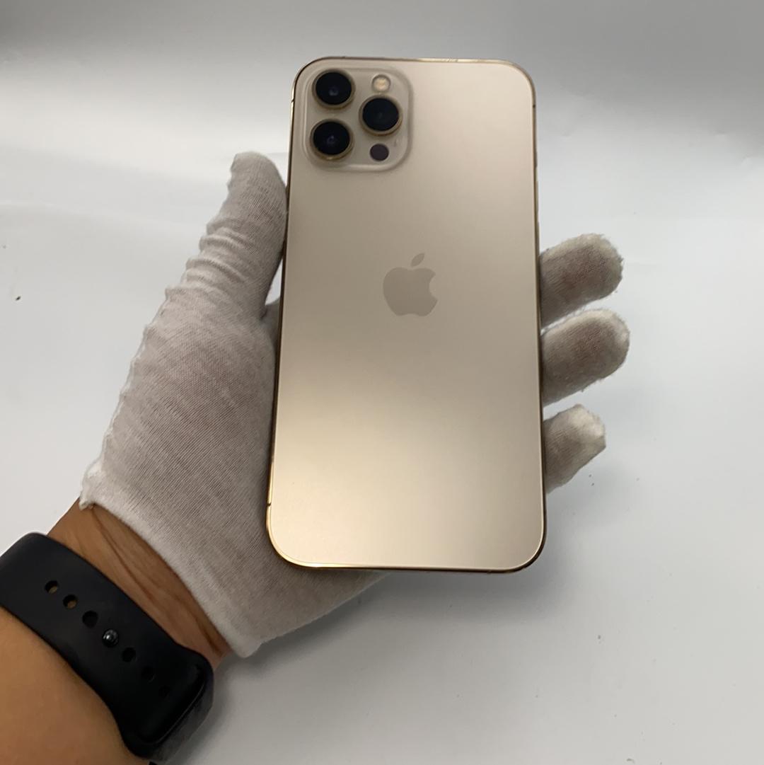 苹果【iPhone 12 Pro Max】5G全网通 金色 128G 国行 8成新