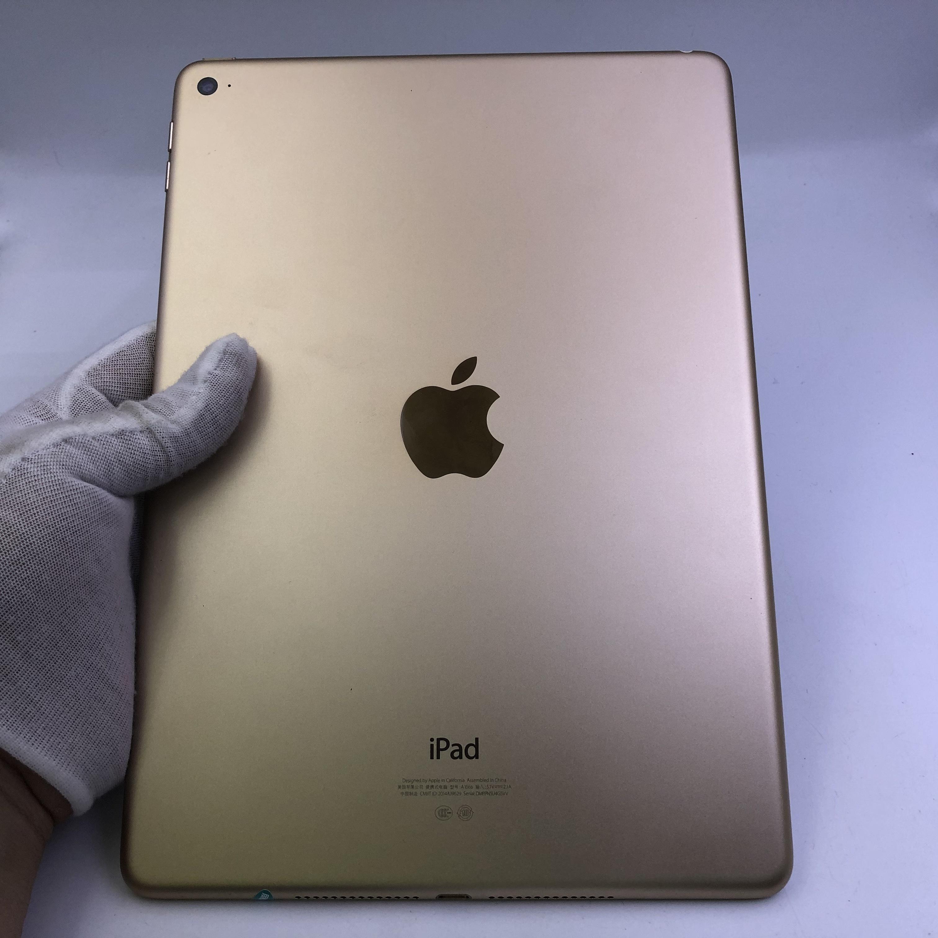 苹果【iPad Air 2】WIFI版 金色 16G 国行 8成新