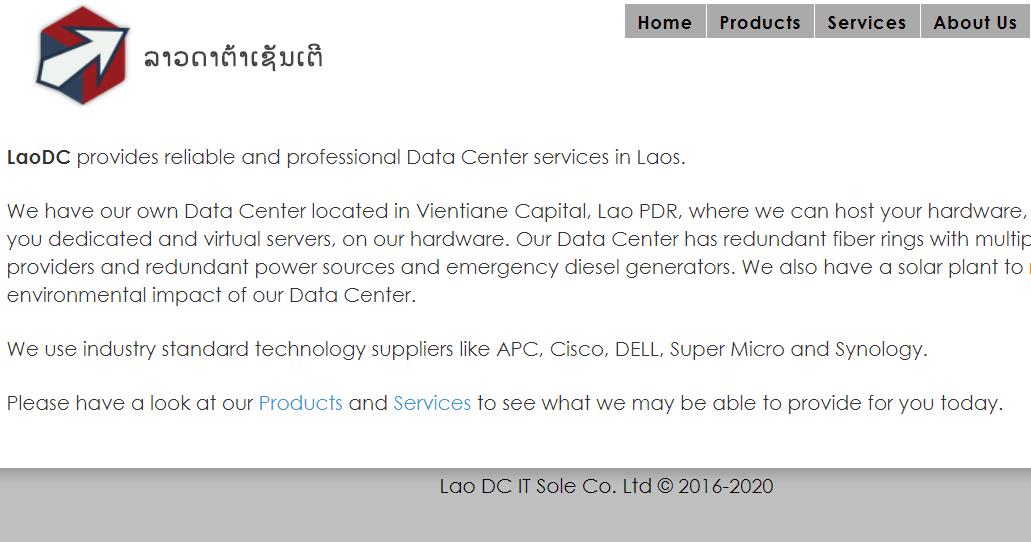『VPS』LaoDC测评 – 2核/2G内存/32G硬盘/50Mbps带宽/VMware/老挝