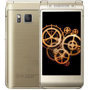 三星【三星 W2016】电信 4G/3G/2G 金色 64G 国行 99成新