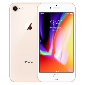 苹果【iPhone 8】4G全网通 金色 256G 国际版 95新 真机实拍