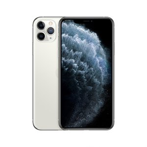 苹果【iPhone 11 Pro Max】全网通 银色 64G 国行 9成新