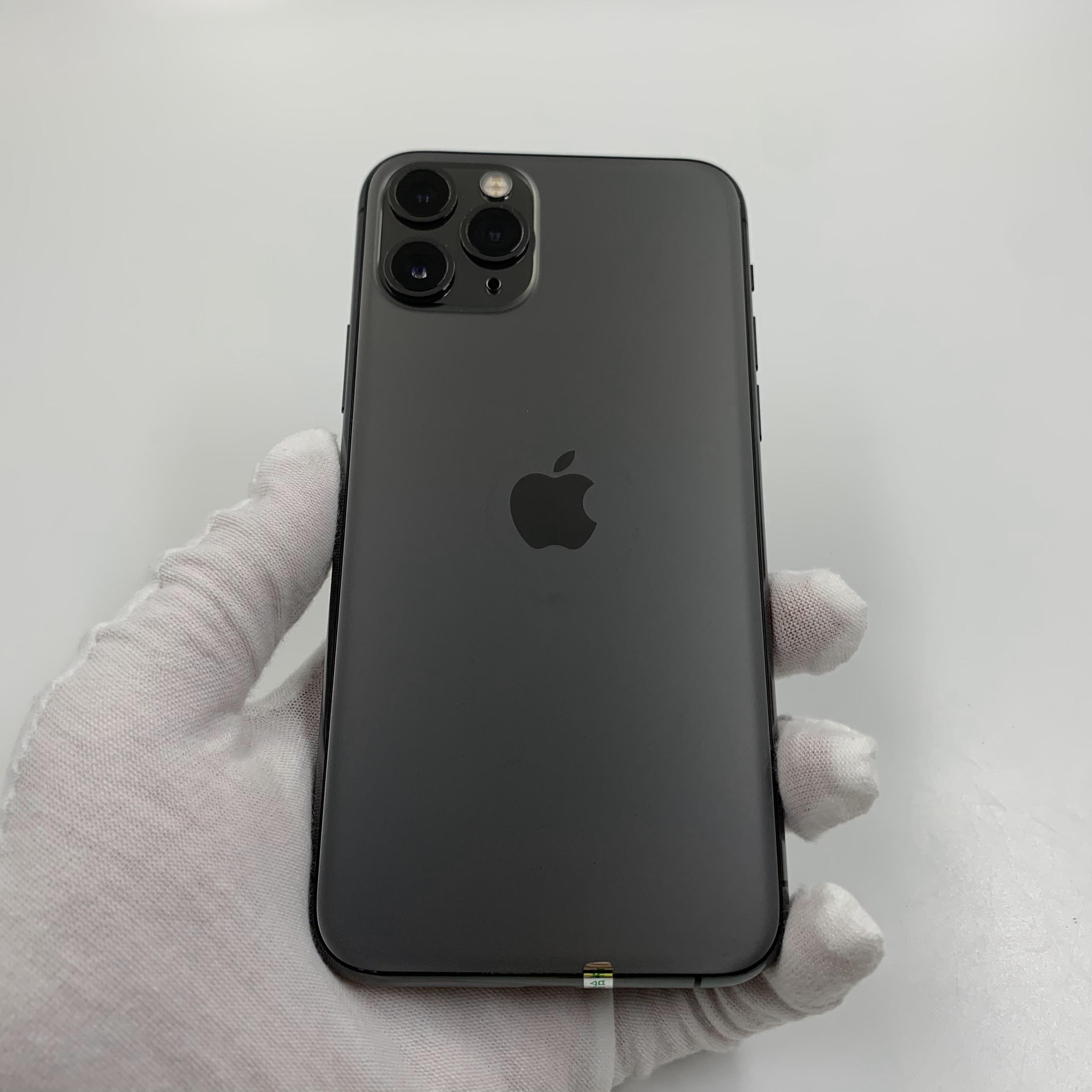 苹果【iPhone 11 Pro】4G全网通 深空灰 256G 国行 95新 真机实拍