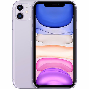 苹果【iPhone 11】64G 95新  全网通 国行 紫色高性价比
