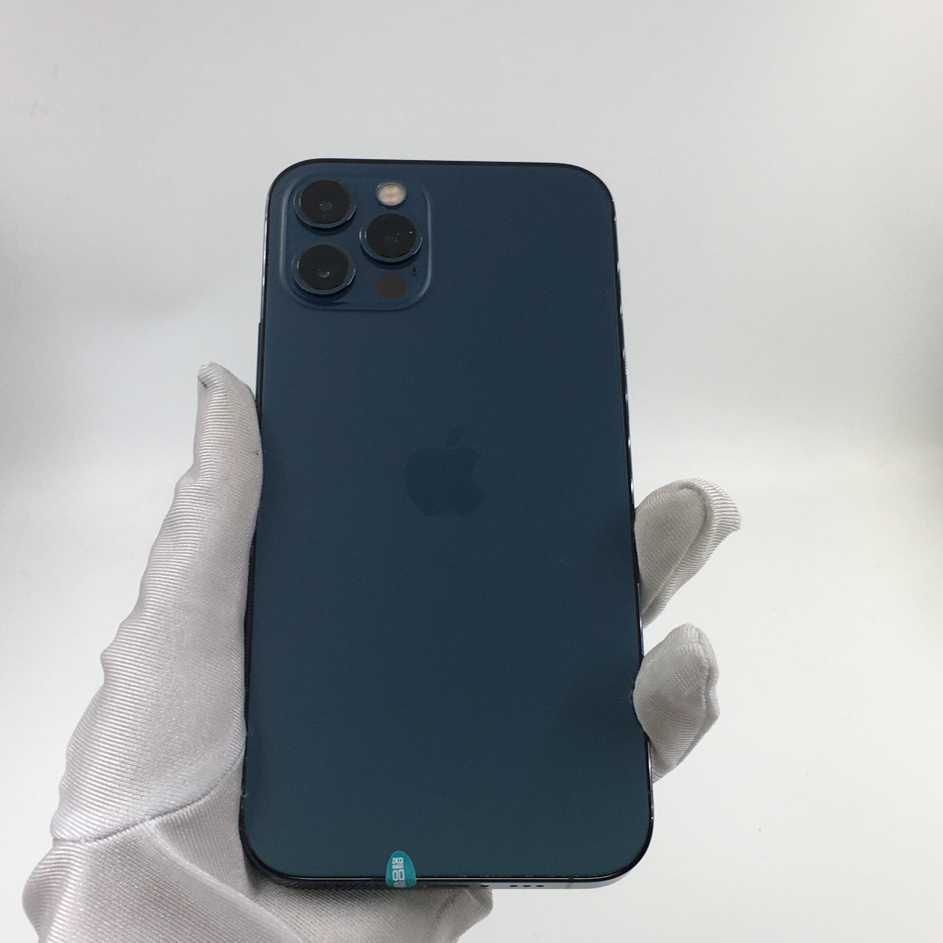 苹果【iPhone 12 Pro】5G全网通 海蓝色 128G 国行 99新 128G真机实拍