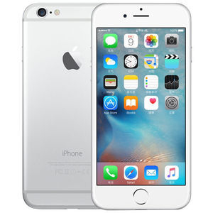 苹果【iPhone 6 Plus】全网通 银色 64G 港澳台 9成新