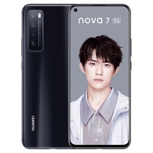 华为【nova 7(5G)】5G全网通 亮黑色 8G/256G 国行 95成新