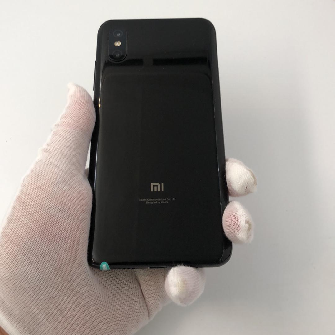 小米【小米8 屏幕指纹版】4G全网通 黑色 6G/128G 国行 8成新