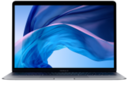 Mac笔记本【19年13寸MacBook Air MVFH2】灰色 国行 8G/128G I5 1.6GHz 95新