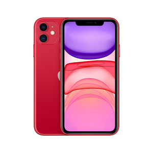 苹果【iPhone 11】全网通 红色 64G 国行 7成新 真机实拍