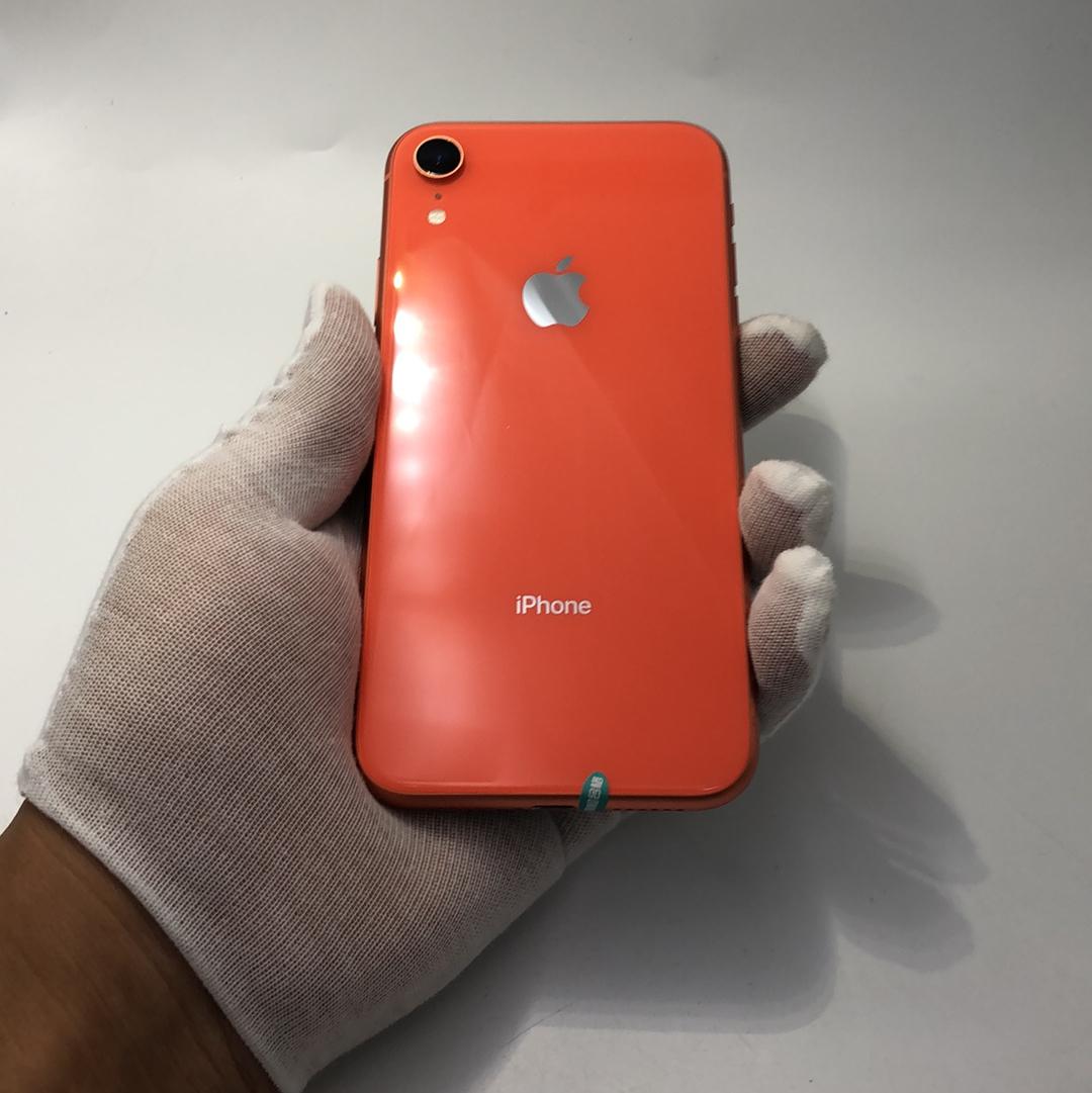 苹果【iPhone XR】4G全网通 珊瑚色 128G 国行 99新