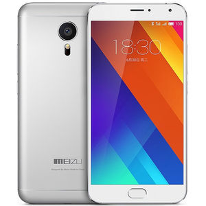 魅族【MX5】移动 4G/3G/2G 银色 16G 国行 9成新