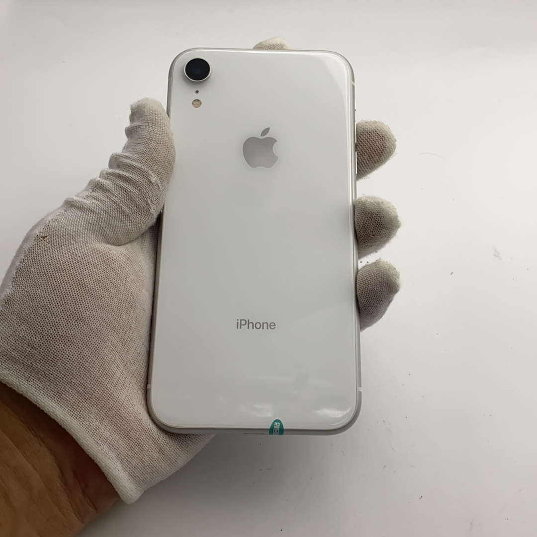 苹果【iPhone XR】4G全网通 白色 128G 国行 99新