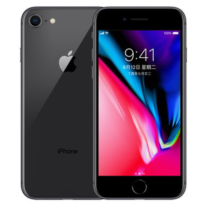 苹果【iPhone 8】移动联通 4G/3G/2G 灰色 64G 国行 8成新
