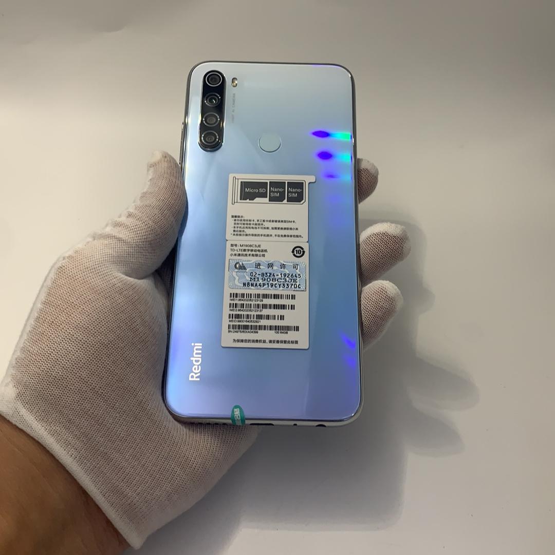 小米【Redmi Note 8】4G全网通 白色 4G/64G 国行 95新