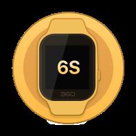 360巴迪龙儿童手表6S 樱花粉