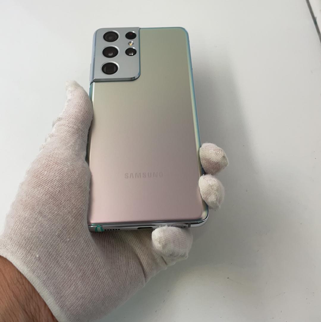 三星【Galaxy S21 Ultra 5G】5G全网通 幻境银 12G/256G 国行 95新